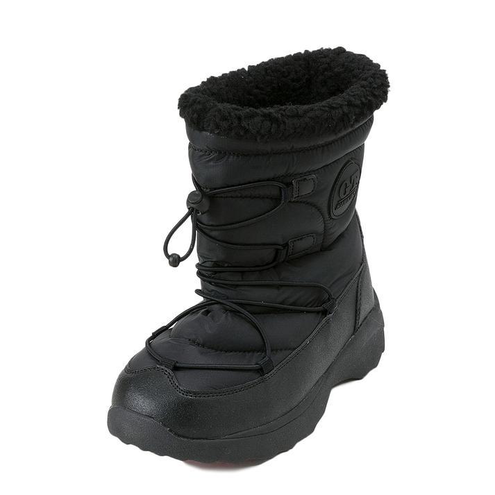 ジュニア【HAWKINS】 ホーキンス SNOW BOOTS(S-L) ジュニア スノーブーツ HK51039JR BLACK S(22.5-23)