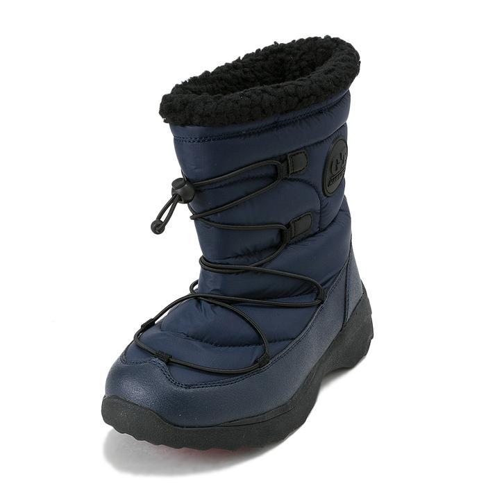 ジュニア【HAWKINS】 ホーキンス SNOW BOOTS(S-L) ジュニア スノーブーツ HK51039JR NAVY S(22.5-23)