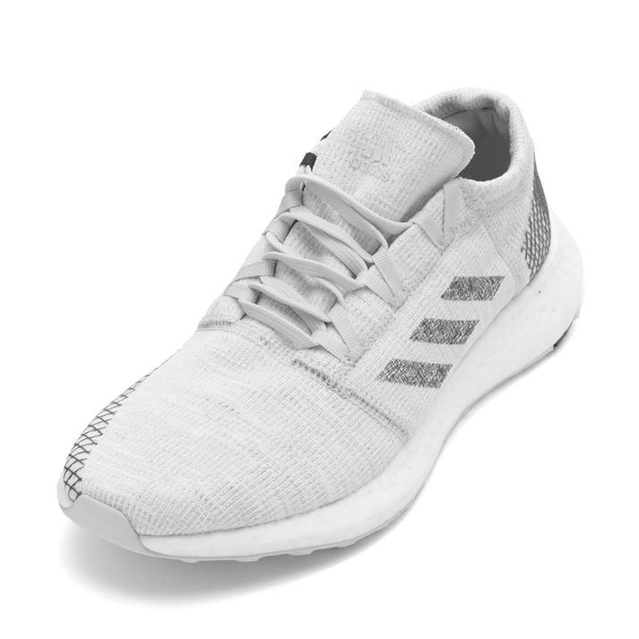【送料無料】 【adidas】 アディダス pureboost go ピュアブースト ゴー B37802 NONDYE/GRY 26cm