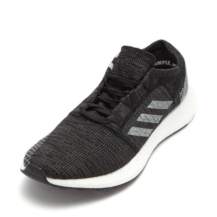 【送料無料】 【adidas】 アディダス pureboost go ピュアブースト ゴー B37803 BLK/GRY 24cm