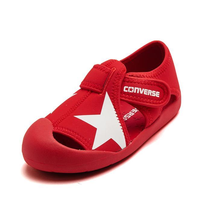 キッズ【CONVERSE】 コンバース 16-22KID'S CVSTAR SANDAL キッズ 【CONVERSE】 コンバース KIDS CVST 32713472 RED 20cm
