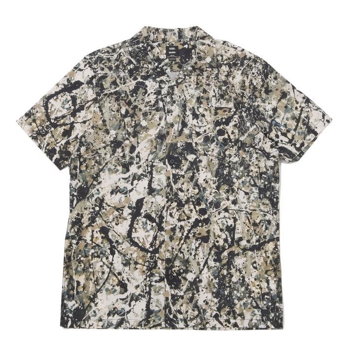 ヴァンズ×モマ ポロック ショートスリーブシャツ