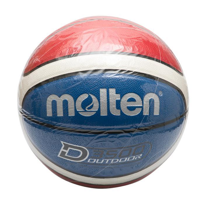 【molten】 D3500 バスケットボール B7D3500-CS WHT/BLU/RED F
