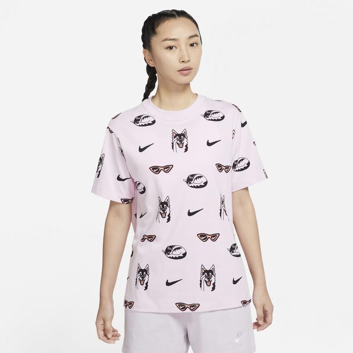 ナイキ ウィメンズ BF ドッグ ショートスリーブ Tシャツ